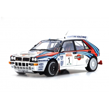 1:18 Lancia Delta HF Integrale - 1992 Sanremo #1 Juha Kankkunen