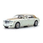 1:18 Rolls-Royce Phantom EWB - English White/Antique Gold