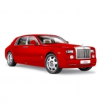 1:18th Rolls-Royce Phantom EWB - Light Red
