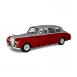 1:18th Rolls-Royce Phantom VI - Silver/Red