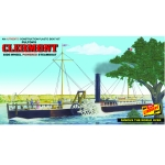 1:96 Fulton's Clermont Paddle Wheel Steamship