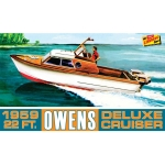 1:25 Owens Outboard Cruiser Boat
