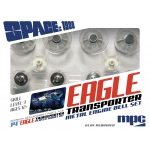 Metal Engine Bell Set For MPC913 1:72 Space:1999 Eagle