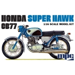 1:16 Honda Super Hawk Motorcycle