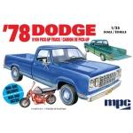 1:25 1978 Dodge D100 Custom Pickup