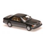 1:43 1991 Mercedes 320CE (C124) - Black Metallic
