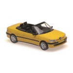 1:43 1998 Peugeot 306 Cabriolet - Yellow