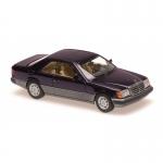 1:43 1991 Mercedes 320CE (C124) - Purple