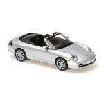 1:43 2001 Porsche 911 Cabriolet (996) - Silver