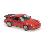 1:43 1990 Porsche 911 Turbo (964) - Red