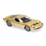 1:43 1966 Lamborghini Miura - Gold