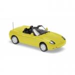 1:43 1995 Fiat Barchetta - Yellow
