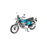 1:6 1968 Honda CB 750 K0 - Blue Metallic