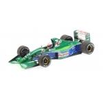 1:18 Jordan F191 - Bertrand Gachot - 6th Place 1991 British GP