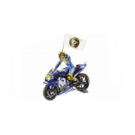 1:12 Yamaha YZR-M1  Catalunyia 2018 - Valentino Rossi W/ Figure and Flag