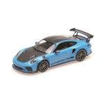 1:18 2019 Porsche 911 GT3Rs - Blue W/Weissach Package and Gold Wheels