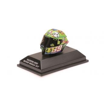 1:8 Valentino Rossi AGV Helmet - MotoGP Mugello 2017