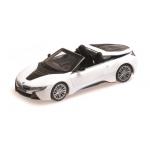 1:43 2017 BMW i8 Roadster - White Metallic