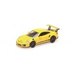 1:87 2013 Porsche 911 GT3 RS - Yellow with Black Stripe