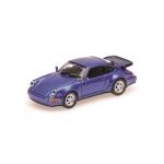 1:87 1990 Porsche 911 Turbo - Blue Metallic