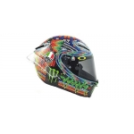 1:8 AGV Helmet - Valentino Rossi - Winter Test Sepang Day 1