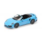 1:43 2017 Porsche 911 (991.2) Turbo S Cabriolet - Blue