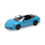 1:43 2017 Porsche 911 (991.2) Carrera 4 GTS Cabriolet - Blue