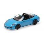 1:43 2017 Porsche 911 (991.2) Targa 4 GTS - Blue