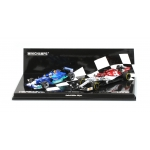 1:43 2-Car Set - Red Bull Sauber / Alfa Romeo Racing - Kimi Raikkonen