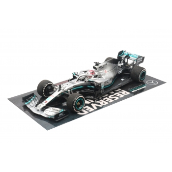1:43 Mercedes AMG F1 - Lewis Hamilton - USA GP World Champion 2019