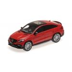 1:43 2016 Brabus 850 Auf Basis Mercedes GLE 63 S - Red