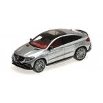 1:43 2016 Brabus 850 Auf Basis Mercedes GLE 63 S - Silver