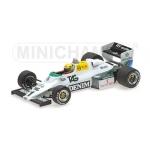 1:43 Williams FW08c - Aryton Senna - 1983 Test Donington Park