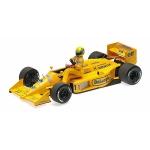 1:18 Lotus Honda 99T - Ayrton Senna Riding On Satoru Nakajima's Car