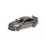 1:87 2016 BMW M4 GTS - Grey with Grey Wheels