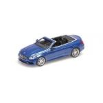 1:87 2016 Mercedes-AMG C 63 C-Class Cabriolet - Dark Blue Metallic