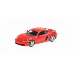 1:87 2016 Porsche 718 Cayman - Red