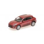 1:87 2013 Porsche Macan Turbo - Red Metallic