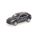 1:87 2013 Porsche Macan Turbo - Blue Metallic