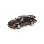 1:87 1990 Porsche 911 Turbo - Black