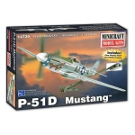 1:144 P-51D Mustang Pre-Painted Canopy