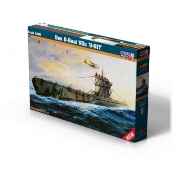 1:400 German U-Boat VIIc T - Special Edition