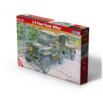 1:72 Willys Jeep & Trailer - Special Edition