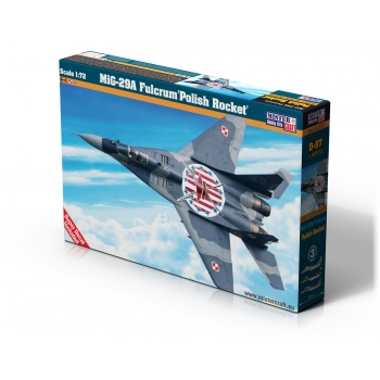 1:72 MIG-29A Fulcrum Polish Rocket