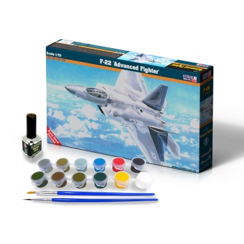 1:72 F-22 Advanced Fighter STARTER SET