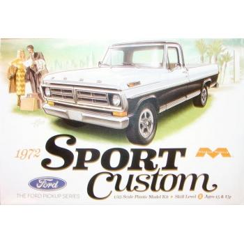 1:25 1972 Ford Pickup Sport Custom