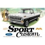 1:25 1966 Ford F100 Custom Cab 4x4