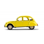 1:43 1979 Citroen 2 CV 6 Club  - Yellow