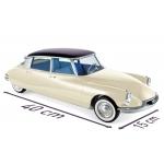 1:12 1956 Citroen DS 19 - Champagne & Aubergine