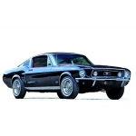 1:12 1968 Ford Mustang Fastback - Black
